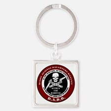 Dads Against Daughters Dating Square Keychain