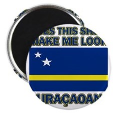Does This Shirt Make Me Look Curacaoan? Magnet