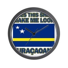 Does This Shirt Make Me Look Curacaoan? Wall Clock