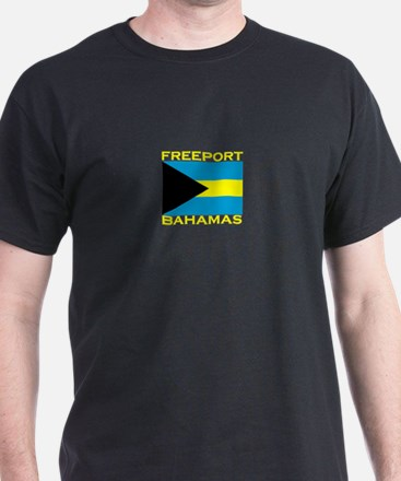 Freeport, Bahamas Flag T-Shirt