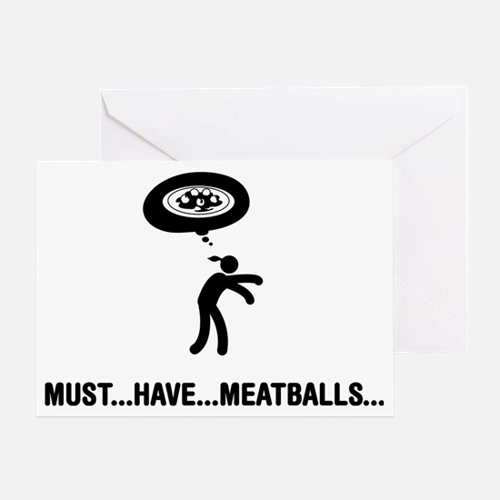 Meatballs-C Greeting Card
