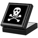 Pirate Skull & Crossbones Keepsake Box