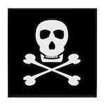 Pirate Skull & Crossbones Tile Coaster