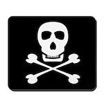 Pirate Skull & Crossbones Mousepad