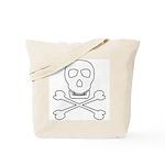 Pirate Skull & Crossbones Tote Bag
