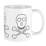 Pirate Skull & Crossbones Mug