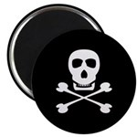 Pirate Skull & Crossbones Magnet