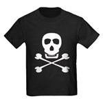 Pirate Skull & Crossbones Kids Dark T-Shirt