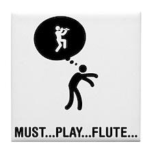 Flutist-A Tile Coaster