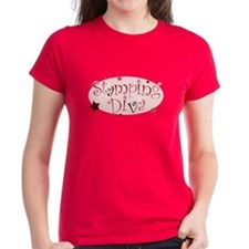 """""""Stamping Diva"""" [red] Tee"""