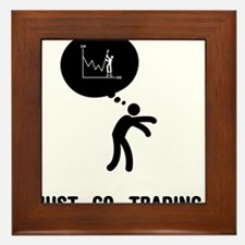 Forex-Stock-Trader-A Framed Tile