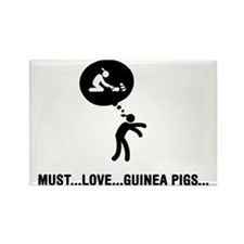 Guinea-Pig-Lover-C Rectangle Magnet