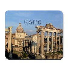Rome_5.5x7.5_FlatCard_RomanForum Mousepad