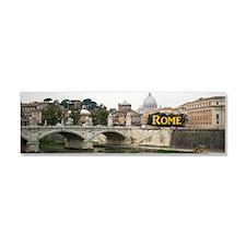 Rome_8.31x3_mug_RiverTiber Car Magnet 10 x 3