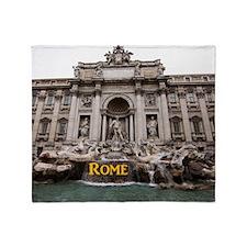 Rome_11x9_TreviFountain Throw Blanket