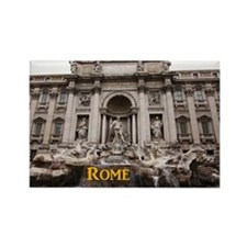 Rome_11x9_TreviFountain Rectangle Magnet