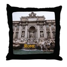 Rome_11x9_TreviFountain Throw Pillow