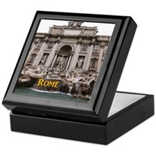 Rome_11x9_TreviFountain Keepsake Box