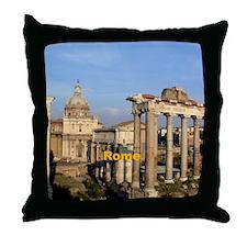 Rome_6x6_RomanForum Throw Pillow