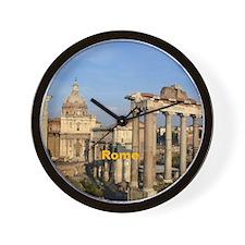 Rome_6x6_RomanForum Wall Clock