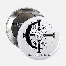 Knowledge Is Faith Button