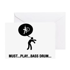 Marching-Band---Bass-Drum-A Greeting Card