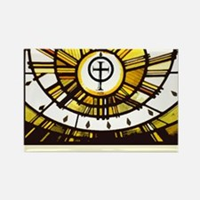 Sunlight and Faith Rectangle Magnet