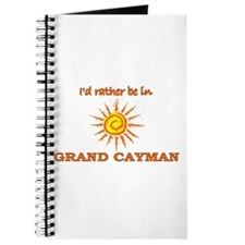 I'd Rather Be In Grand Cayman Journal