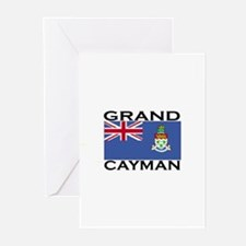 Grand Cayman Flag Greeting Cards (Pk of 10)