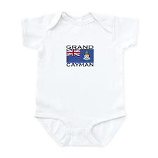 Grand Cayman Flag Infant Bodysuit