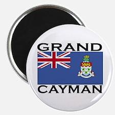 Grand Cayman Flag Magnet
