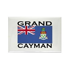 Grand Cayman Flag Rectangle Magnet
