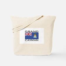 Grand Cayman Flag Tote Bag