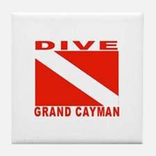 Dive Grand Cayman Tile Coaster
