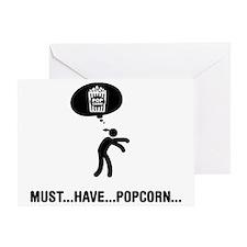 Popcorn-C Greeting Card