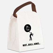 Home-Builder-A Canvas Lunch Bag