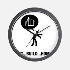 Home-Builder-A Wall Clock