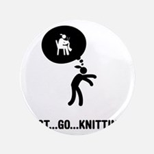 "Knitting-A 3.5"" Button"