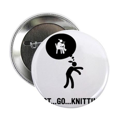 "Knitting-A 2.25"" Button"