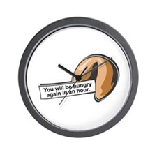 Funny Fortune Cookie Wall Clock