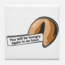 Funny Fortune Cookie Tile Coaster
