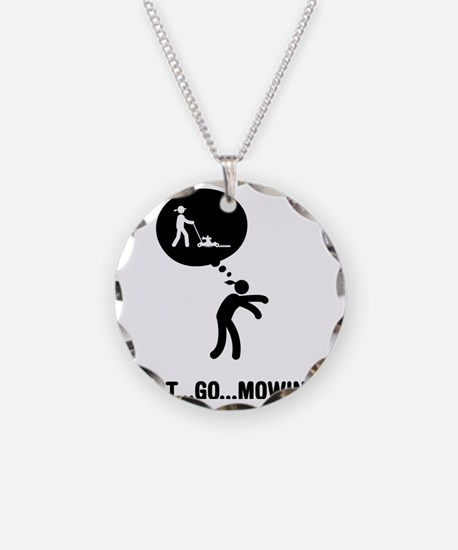 Lawn-Mowing-C Necklace