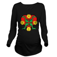 dragon Long Sleeve Maternity T-Shirt