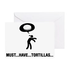 Tortillas-C Greeting Card