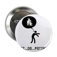 "Pottery-C 2.25"" Button"