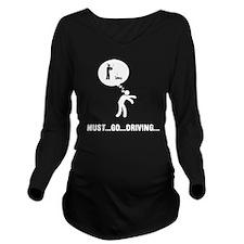 Remote-Control-Car-D Long Sleeve Maternity T-Shirt