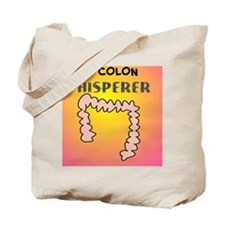 the colon whisperer pillow pink Tote Bag