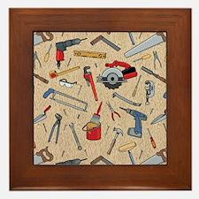 Work Tools on Wood Framed Tile