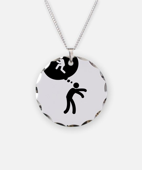 Baseball-Pitcher-C Necklace