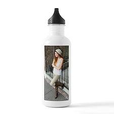 Portrait of a woman Water Bottle